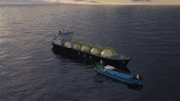 Kanfer Shipping signs small scale LNG cooperation scheme with ADNOC Logistics & Services